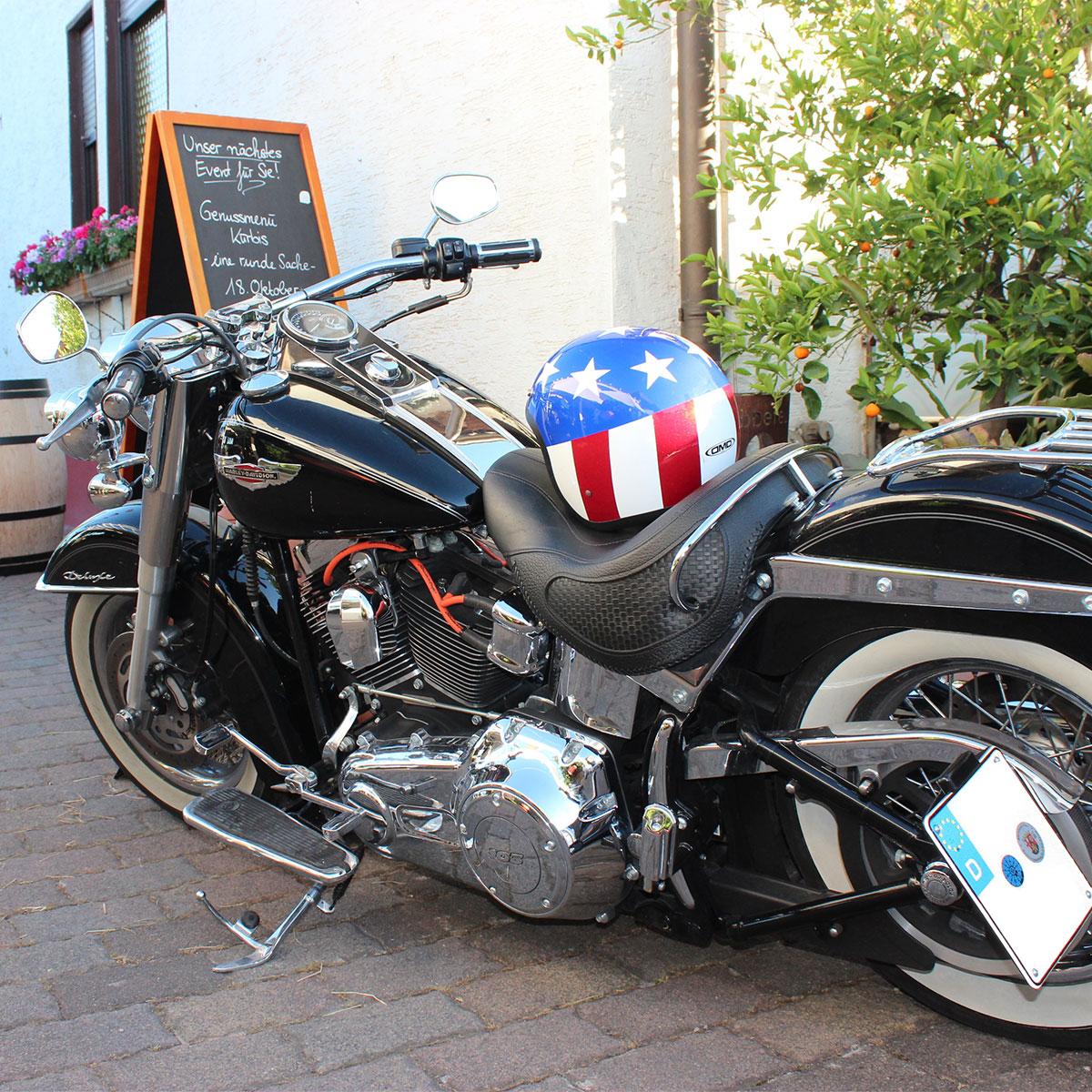 Weingut Hauer Events - BBQ Motorrad